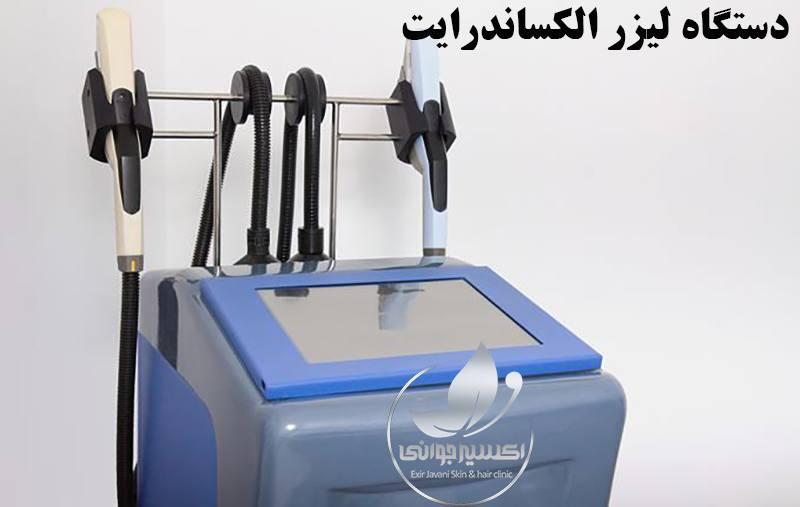 دستگاه لیزر الکساندرایت، عملکرد دستگاه لیزر الکساندرایت